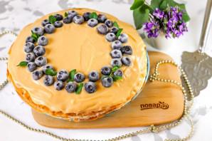 Блинный торт с рикоттой - фото шаг 7