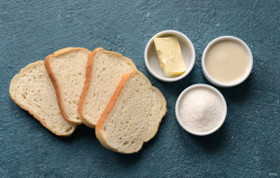 Попкорн из хлеба - фото шаг 1
