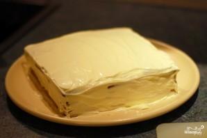 Творожный торт из печенья - фото шаг 7