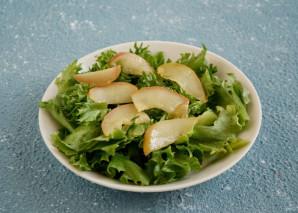 Салат с карамелизированной грушей - фото шаг 7