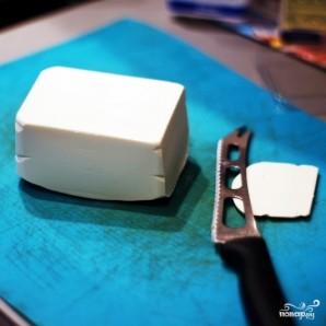 Пирог из слоеного теста с сыром и баклажаном - фото шаг 2