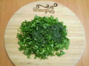 Постный зеленый борщ  - фото шаг 6