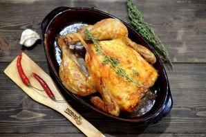 Курица целиком в фольге в духовке - фото шаг 5
