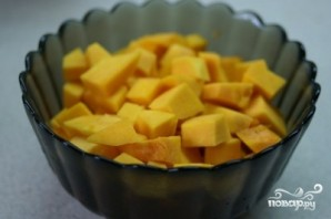 Десерт из тыквы и яблок - фото шаг 1