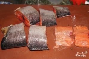 Рыбный пирог с творожным сыром - фото шаг 3
