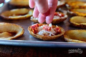 """Картофель с начинкой """"Пицца"""" - фото шаг 7"""