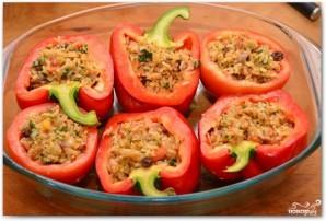 Фаршированные перцы и помидоры - фото шаг 14
