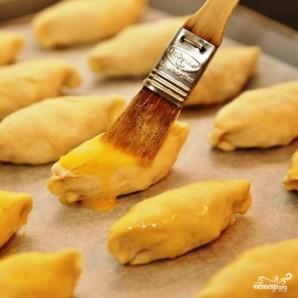 Пирожки со шпиком - фото шаг 15