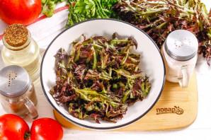 Салат с фриллисом и помидорами - фото шаг 2