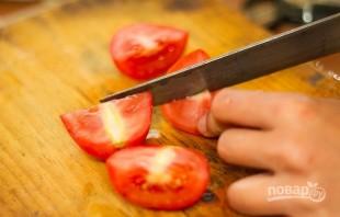 Острый салат с манго и помидорами - фото шаг 4