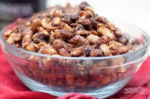 Жареный арахис с медом и солью - фото шаг 5
