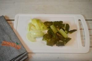 Судак, запеченный с овощами и картофелем - фото шаг 3