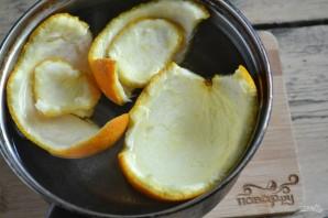 Цукаты из апельсиновых корок - фото шаг 2