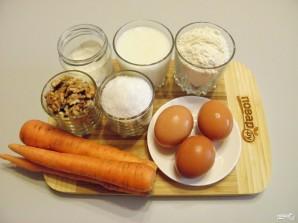 Морковный пирог классический - фото шаг 1