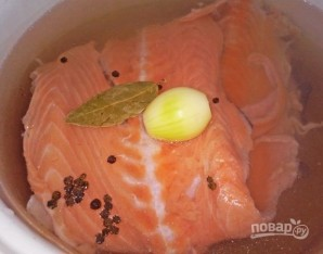 Лососевый суп - фото шаг 3