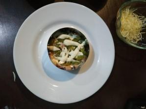 Слоеный салат с апельсином - фото шаг 5