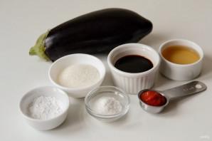Хрустящие баклажаны в кисло-сладком соусе - фото шаг 1