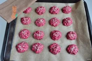 Свекольно-кунжутное печенье - фото шаг 6