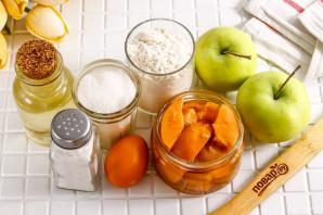 Песочный пирог с вареньем и яблоками - фото шаг 1