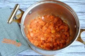 Гречка с помидорами - фото шаг 4