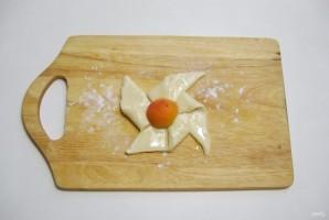 Слойки с абрикосами - фото шаг 5