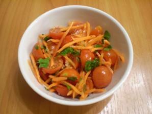 Помидоры с морковкой и чесноком - фото шаг 4