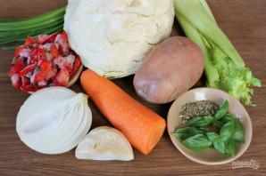 Овощной суп для диабетиков - фото шаг 1