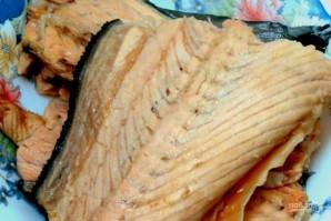 Уха из семги со сливками - фото шаг 4