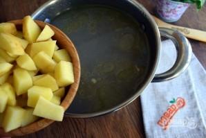 Суп из щавеля на курином бульоне - фото шаг 2