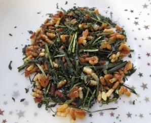 Зеленый чай с жареным рисом - фото шаг 4