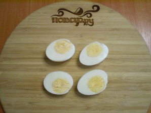 Кабачки жареные с яйцом - фото шаг 8