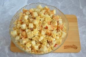Рыбный салат с кукурузой - фото шаг 8