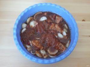 Шашлык из говядины в соевом соусе - фото шаг 5
