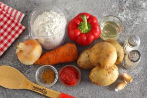 Рулетики из теста с картошкой - фото шаг 1