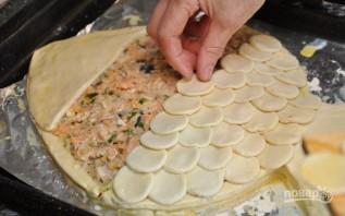 Пирог из рыбы - фото шаг 6