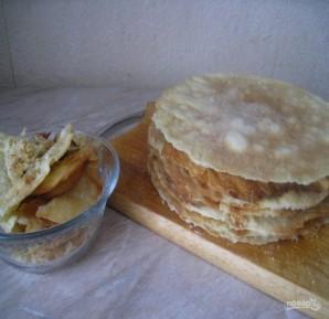 Закусочный торт без выпечки - фото шаг 5