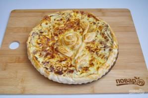 Супер нежный пирог с капустой и мясом - фото шаг 11
