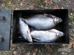 Копчение рыбы в коптильне - фото шаг 2