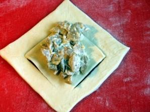 Грибные пирожки - фото шаг 3