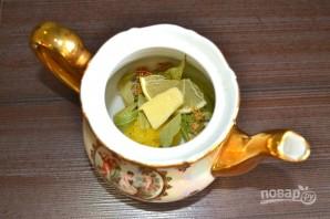 Липовый чай с медом - фото шаг 5