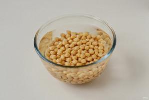 Зеленый хумус - фото шаг 2