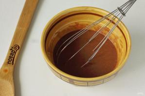 Кексы в микроволновке в силиконовых формочках - фото шаг 4