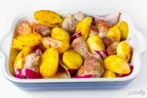 Картофель со свининой по-домашнему - фото шаг 5