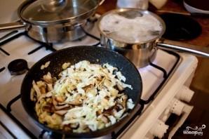 Рисовая лапша с грибами - фото шаг 2