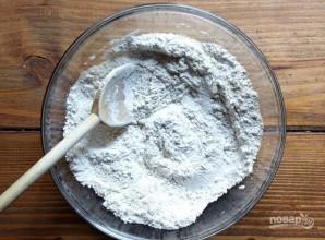Тыквенный кекс с орехами и шоколадом - фото шаг 2