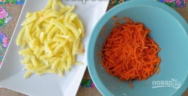 Суп из черной чечевицы с индейкой - фото шаг 3