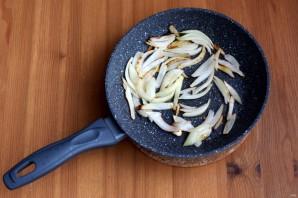 Салат с куриной печенью и яблоком - фото шаг 3