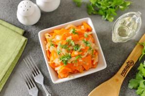 Маринованный лук с морковью быстрого приготовления - фото шаг 7