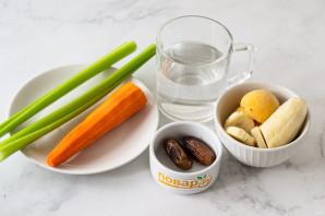 Смузи из сельдерея и моркови - фото шаг 1