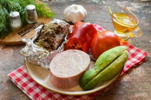 Салат с говядиной и ветчиной - фото шаг 1